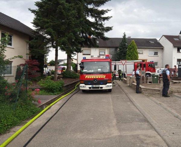 BRAND vom 12.07.2021  |  (C) Feuerwehr Malschenberg (2021)